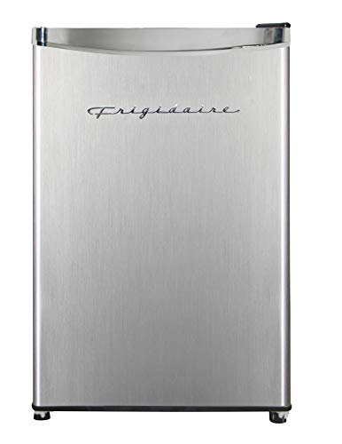 Frigidaire EFR321-AMZ 3.3 cu ft Stainless Steel Mini Fridge, Perfect for Home or The Office, Platinum Series