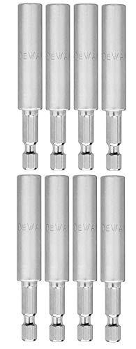 Dewalt DW2045B 3' Magnetic Replacement, Screwgun Bit Tip Holder #619773-02 (8 Pack)