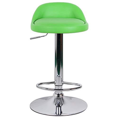 Interieur gebruik barkruk barkruk van leer hoge stoel kruk reception stoel kiosk kruk barkruk groen