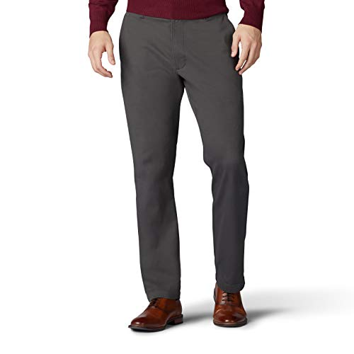 Lee Men's Performance Series Extreme Comfort Relaxed Pant, Dark Gray, 40W x 29L