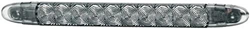 HELLA 2DA 343 106-027 Feu stop additionnel - LED - 12V - Montage en saillie/vissé - Couleur du voyant: gris fumée - Couleur LED: rouge - Câble: 3000mm - arrière - Quantité: 30