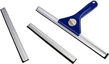 Iktu NECO Multipurpose 3 Size Window Cleaner & Squeegee Kit for Washing Glass, Mirror, Tiles, Car, Kitchen (Blade Size - 20cm,25cm & 30cm)