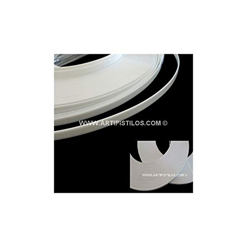 Artipistilos® Ballena Plástica 12 Mm. - 1 Metro De Largo X 12 Mm. De Ancho, Blanco - Ballenas Y Variflex