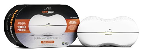 ARRIS Surfboard AC1900 Wi-Fi Router with RipCurrent Using G.hn...