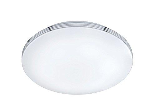 Trio Leuchten LED Bad Deckenleuchte Apart 659411806, Metall chrom, 1x 18 Watt