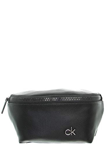 Calvin Klein Herren Ck Direct Waistbag Schultertasche, Schwarz (Black), 6x16x22 cm