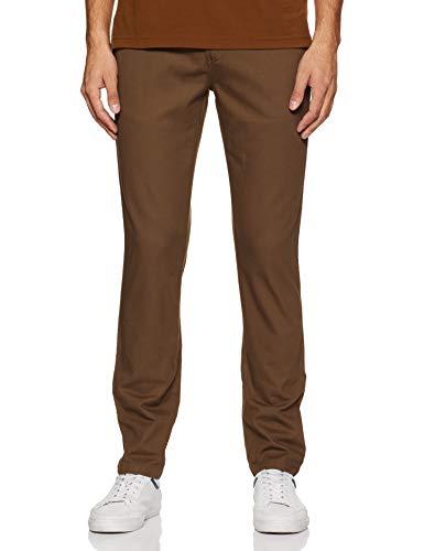 Amazon Brand – Symbol Men's Slim Fit Regular Casual Trousers