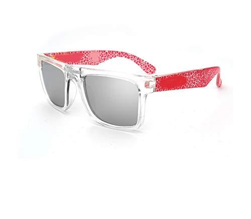 RTGreat Folding Sunglasses Gafas de sol KEN BLOCK Designer Sun Glasses Reflective Coating Square Spied For Men And Women Rectangle Gafas De Sol C11