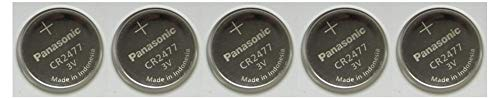 Panasonic CR2477Knopfzelle 3V Lithium Batterie Pack 1x (4Stück) Batterien