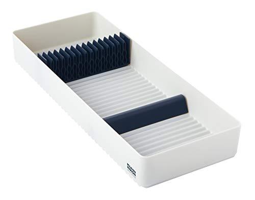 KUHN RIKON Wave Schubladeneinsatz für Messer/Weiß, One Size