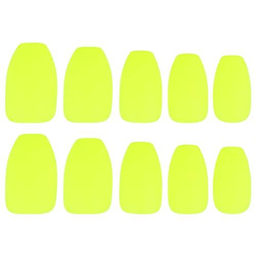 PRETYZOOM 48 Stuks Kunstnagels Tips Matte Afwerking Nagel Patch Nep Nagel Sticker Manicure Salon Tool Voor Dames Dames Beginner Zonder Lijm