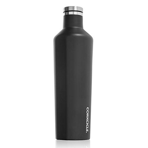 SPICE OF LIFE(スパイス) 水筒 ステンレスボトル CANTEEN CORKCICLE マットブラック 750ml 25oz 保冷 保温 真空断熱 2025MB