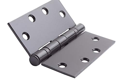 Global Door Controls CP4545BB-US10B-3 4.5 in. x 4.5 in. Oil-Rubbed Bronze Ball Bearing Hinge - Set of 3
