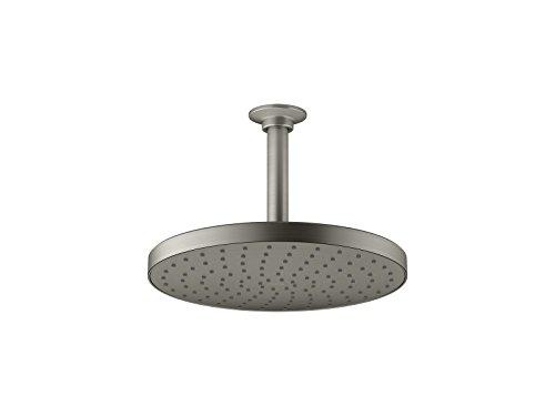 KOHLER 76465-BN Awaken Showerhead, Vibrant Brushed Nickel,10 Inch