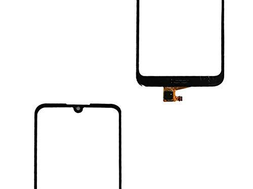 Flügel für Huawei Y6 2019 MRD-LX1F, MRD-LX1, MRD-LX3 Y6 Prime 2019 Y6 Pro 2019 MRD-LX2 Touchscreen Display Digitizer Glas Schwarz Bildschirm Frontglas (Ohne LCD) Ersatzteile & Werkzeuge & Kleber