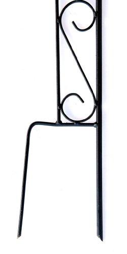 DanDiBo Rankhilfe mit Halter 23299 Rankgitter aus Metall H-144 cm B-27 cm Kletterhilfe - 5