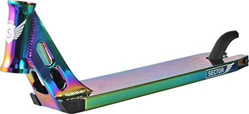 Fun Trading Longway Sector - Tabla para patinete, 52 x 11 cm, Neo Chrome