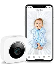 SwitchBot Security Baby Monitor Camera - Add Hub Mini/Plus Compatible with Alexa, Google Home, HomePod, IFTTT