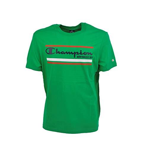 Champion Crewneck t-Shirt Art.214306 (XXXXL, gs004 Verde)