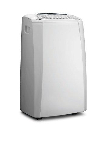 De'Longhi PAC CN92 Silent Mobiles Klimagerät (Klimaanlage, Luft-Luft System, Max. Kühlleistung 2,5 kW, 10.000 BTU/h, Separate Entfeuchtungsfunktion, Geeignet für Räume bis zu 90 m³) [EEK A]