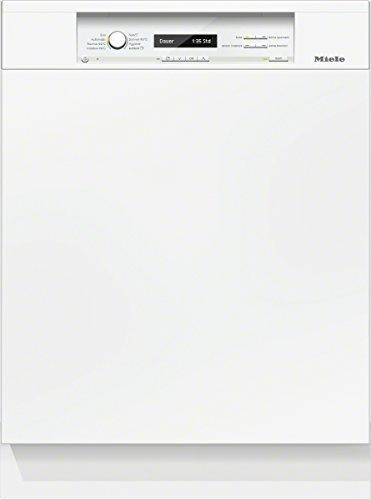 Miele G6700 SCi D BW230 2,1 Geschirrspüler Teilintegriert / A+++ / 237 kWh/Jahr / 2716 Liter/Jahr / 14 MGD / Beste Energieeffizienz / Frischwasserspüler ab 6.5 Liter Wasserverbrauch / brillant weiß