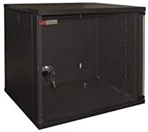 "PW WPN-RWA-06604-B - Armario para servidor de red (6U/19""), 540 x 450 x 310 mm, negro"