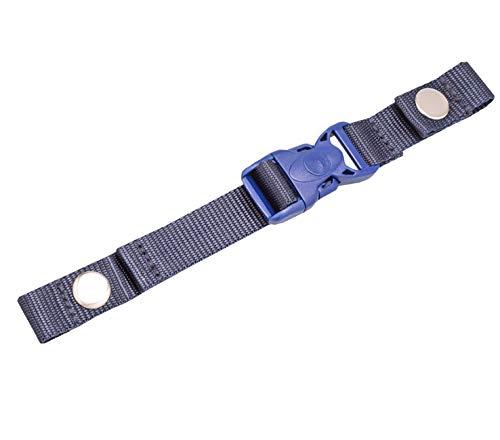 Belmil Zubehör Brustgurt für Schulranzen Verstellbarer Kompatibel mit den Schulranzen Modellen: 403-13, 405-30 (334 Blau, Blue)