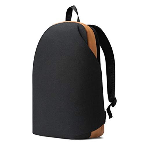 Lixada Mochilas informales, mochila impermeable y anti-lágrimas Mochila de viaje con bolsillos interiores 6 Mochila para viajes de ocio urbano Meizu de 15,6 Pulgada / Negro
