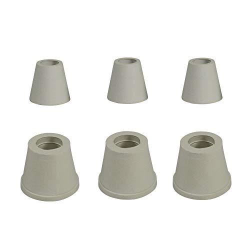 Lot de 6 Joints épais chicha pour foyer (3) et tuyau (3) universel en caoutchouc joint MOD narguilé shisha