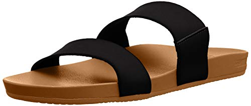 Reef Damen Cushion Bounce Vista Schiebe-Sandalen, Black Natural, 37.5 EU