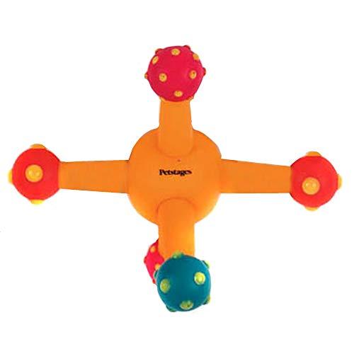 Petstages Flexi Fetch Jack Interaktives Hundespielzeug (Einheitsgröße) (Bunt)