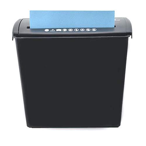 Trituradora A606B Pequeña Mini Trituradora De Oficina Home Strip Eléctrico Micro-Cut Trituradora De Papel con Ventana para La Oficina De La Escuela