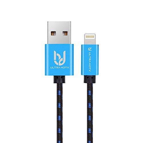Ultra HDTV iPhone Lightning Cable de Carga 1 Metro, Certificado Oficialmente por...