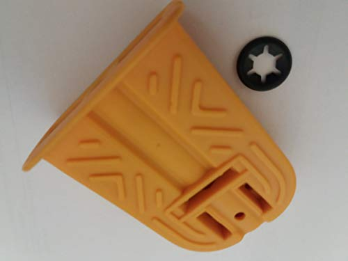 Kettler 70121759 Pedal safarigelb für Kettcar 8 mm