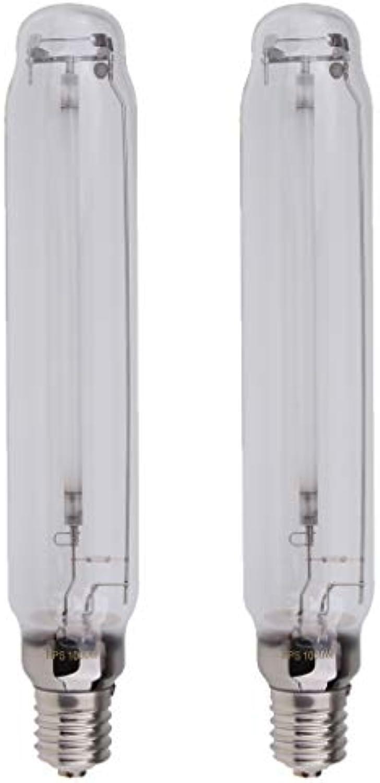 B Blesiya 2pcs Natriumdampflampe Pflanzenlampe Leuchtmittel, 1000W