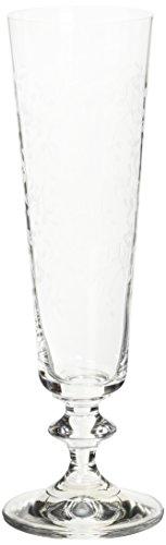 Bohemia Cristal Provence Verre à vin mousseux Lot de 6 205 ml