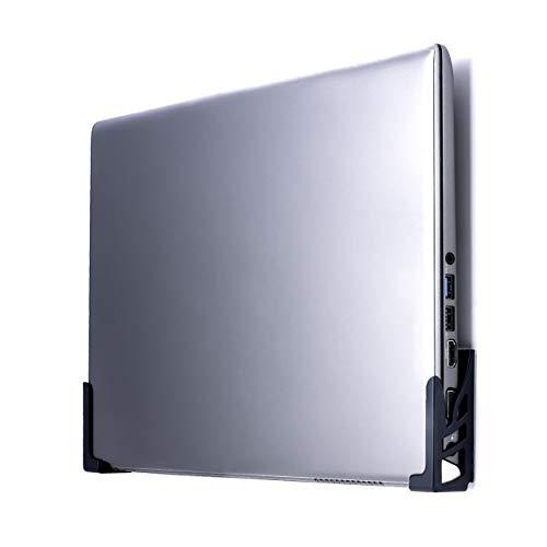 Dockem Koala Wall Mount 2XL: Montaje de Pared Universal Libre de Daños para Ordenadores Portátiles, Tabletas y Teléfonos con Fundas Gruesas (Negro)
