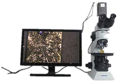 CTO High Power Microscope for Microbiological Observation and Research 450X-4500X Magnification High-Definition Metallographic Microscope