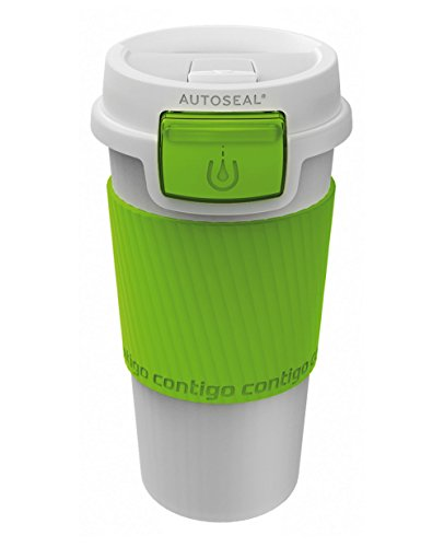 Contigo Morgan Mug de Voyage Mixte Adulte, Citron, 360 ML