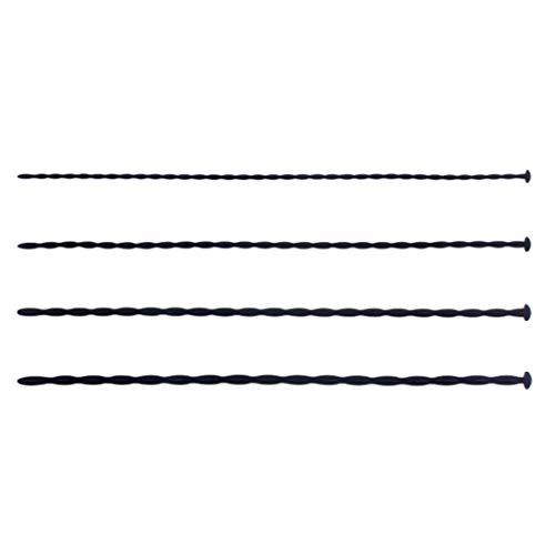WRZHL 4 Piezas Larga Design U`rethral Tubos elásticos de Silicona Cat`hêter Juguetes estimulantes inserte el Dispositivo de Longitud 30cm Camiseta Indoor Pleasant Game Tool Backpack Jeans