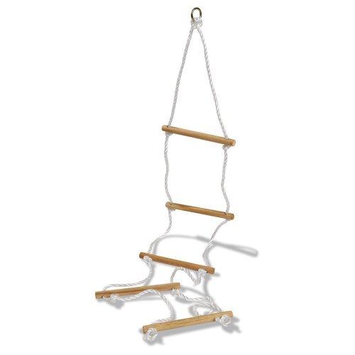 Echelle de corde à 5 barreaux pour tout portique standard, dimensions 1.90 x 40 cm.