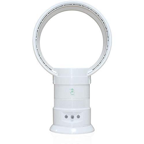 ESACLM Ventilador sin Hojas de Iones Negativos, purificador de Aire, Ventilador sin aspas, Ventilador de la Torre multiplicadora de Aire de Control Remoto, Ventilador de Mesa Vertical oscilante