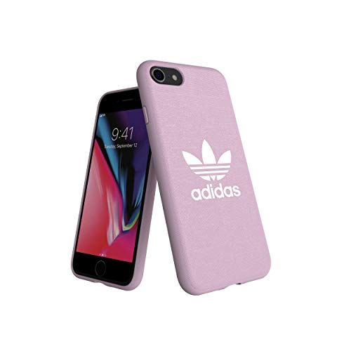 adidas Originals Adicolor - Carcasa Moldeada Rosa para iPhone 8/7/6S/6