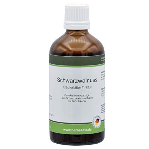 Schwarzwalnuss Tinktur konzentriert von HerbaSale® 100ml nach Dr Clark