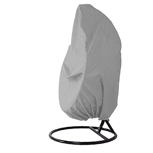 BSJZ Ei Schaukel Stuhlhussen Wasserdicht Staubdicht Grau Hängende Stuhlbezug Gutes Produkt für Outdoor Garden Patio Schaukel Stuhl