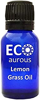 Lemongrass (Cymbopogon) Oil 100% Natural, Organic & Vegan Lemongrass Essential Oil   Lemongrass Absolute Essential Oil   P...
