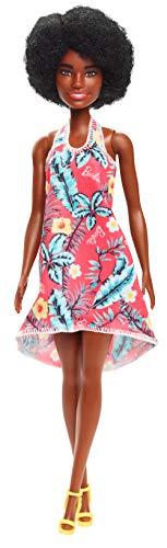 Mattel Barbie Green Flower Dress - Redhead Fashionista Doll GHT27