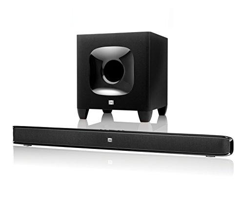 JBL Cinema SB 400 Heimkino 2.1 Soundbar-System (Wireless Bluetooth Soundbar, Subwoofer) schwarz