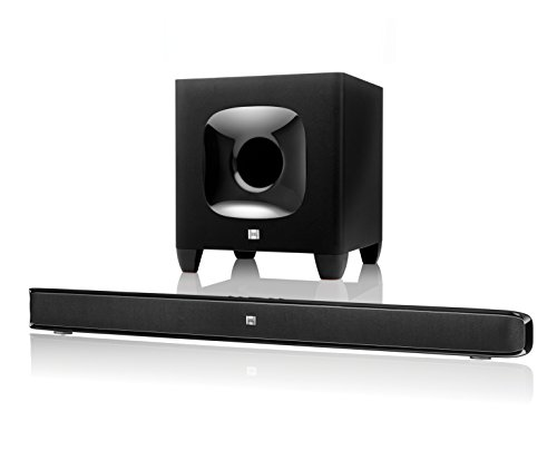 JBL Cinema SB 400 Heimkino 2.1 Soundbar-System (Wireless Bluetooth Soundbar, Subwoofer) schwarz