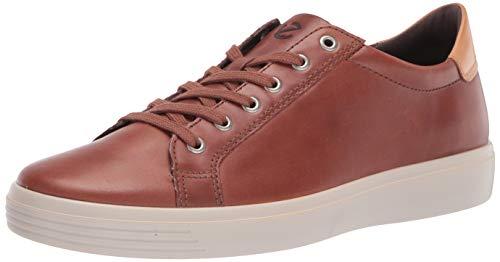 ECCO Men's Soft Classic Sneaker, MINK/LION, 10 M US